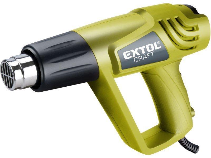 Pistole horkovzdušná, 2000/1000W, 550/350°C, EXTOL CRAFT, 411013