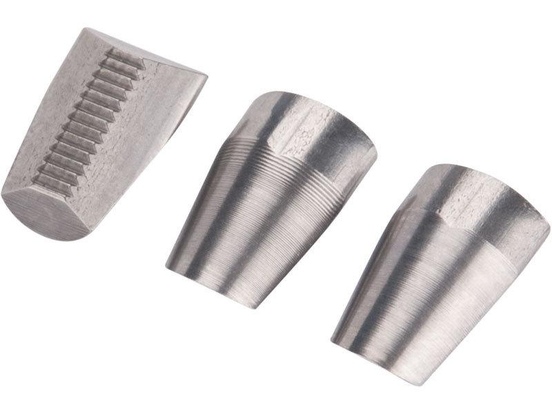 Čelisti do nýtovacích kleští, 3ks, 13mm, pro Fortum a Extol Premium nýtovací kl., FORTUM