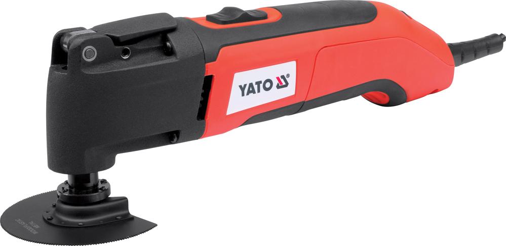 Multifunkční oscilační nástroj YATO, 15000-22000 ot/min, 300W