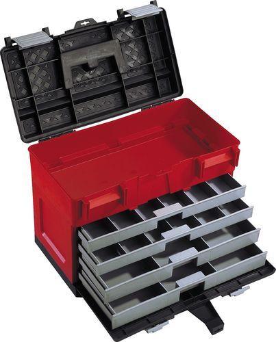 33e8f1783e5aa Náradie, píly, brúsky, spojovací materiál Plastový box na náradie  4-zásuvkový 450 x 250 x 325 mm