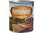 FORTEKRYL voskový olej 0,7kg bezbarvý , tónovatelný