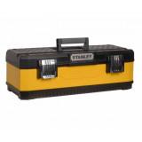 Kovoplastové boxy na nářadí - Žluté Stanley 1-95-614