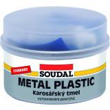 Soudal Metal Plastic Standard 250g - polyesterový tmel s jemnou konzistenciou