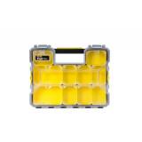 Fatmax® Profesionální voděodolný organizer s kovovými přezkami - mělký Stanley 1-97-517