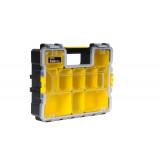 Fatmax® Profesionální voděodolný organizer s kovovými přezkami - hluboký Stanley 1-97-518