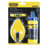 0-47-443 Sada lajnovací šnúry Stanley ® 30m s kriedou STANLEY