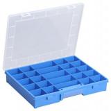 Plastový kufrík s pevným vnútorným delením Europlus Basic 37/25 457250