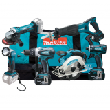 Makita DLX6011 aku sada včetně 3 baterií, rychlonabíječky, tašky