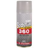 BODY 360 plnič sprej 400ml šedý