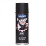 Maston Gumový nástřik ve spreji RUBBERcomp černý lesk -  ochranný snímatelný nástřik