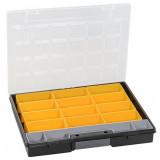 Plastový kufřík s vyjímatelnými krabičkami EuroPlus Flex 37/13 457201