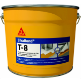 SikaBond ®-T - 8 - 6,7 kg pružná hydroizolácie a lepenie na dlažbu, drevo