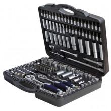 Sada nástrčných klíčů 6-32mm, 150 dílná RAXX