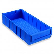 Allit 456550 Průmyslová odkládací přihrádka uzavřená vpředu ProfiPlus ShelfBox 400B, modrý