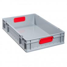 Allit 456740 Euro kontejner ProfiPlus EuroBox 612, šedá / červená