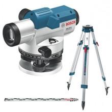 Bosch nivelačný prístroj GOL 26 G + měř.lať GR500 a statív BT160
