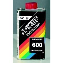 Odmašťovač MOTIP 600 -200ml na čištění kovových a plastových částí.