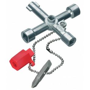 KNIPEX Kľúč na rozvodné skrine 6 / 8 1102