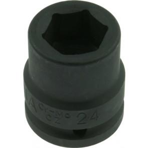 Nástrčková priemyselná hlavica 4hran 3 / 4 - 24mm
