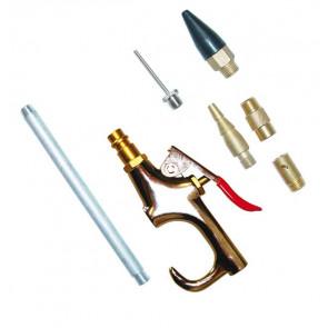 GÜDE ofukovací pistole, 7-dílná sada