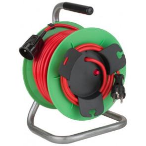 Káblový navijak Basic - pohyblivá zásuvka 230V / 25m - 1,5