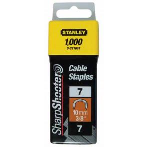"""1-CT108T Náhradní """"C"""" spony kabelové balení 1000 ks / 12 mm STANLEY"""