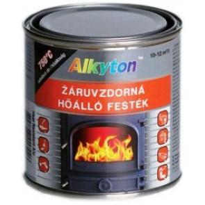 Alkyton žáruvzdorná vypalovací kovářská černá barva 0,25L