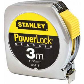 0-33-218 Zvinovací meter Powerlock - kov 3m STANLEY