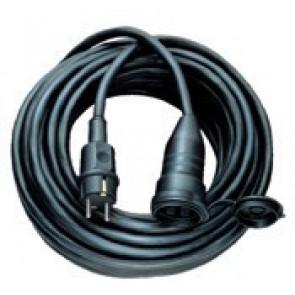 Kabel s vidlicí a volnou zásuvkou 230V / 16A / IP44 - 10m