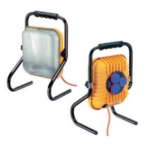 Pracovná lampa s trojzásuvková rozvodnice ALS3000