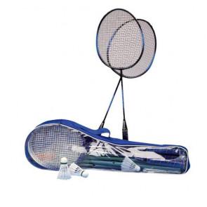 Badmintonová souprava pro 4 hráče, včetně sítě