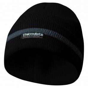 GEBOL čiapka reflexná Thinsulate čierna
