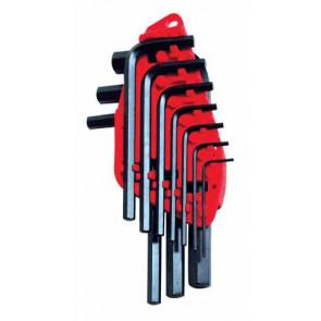Sady metrických šestihranných zástrčných klíčů v plastovém držáku Stanley 0-69-253