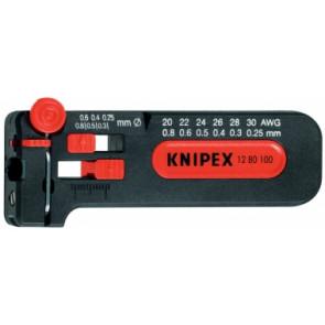 KNIPEX Miniodizolovač 0,25-0,8 mm 1280100SB