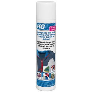 HG impregnace pro textil - ochrana před vodou, olejem, tukem a špínou