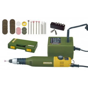 Sada MICROMOT 50/E, síťový zdroj a 34 nástrojů