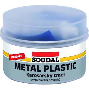Soudal Metal Plastic Standard 2kg - polyesterový tmel s jemnou konzistenciou