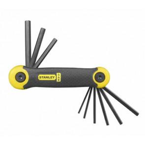 9-dílná nožová sada zástrčných klíčů - palcová Stanley 2-69-265