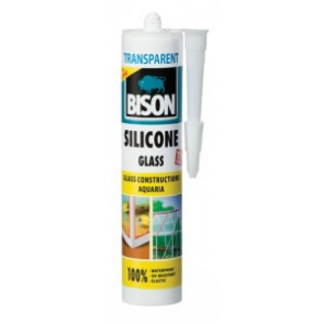 BISON SILICONE GLASS TRANSPARENT 280 ml