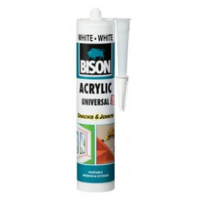 BISON ACRYLIC UNIVERSAL WHITE 300 ml