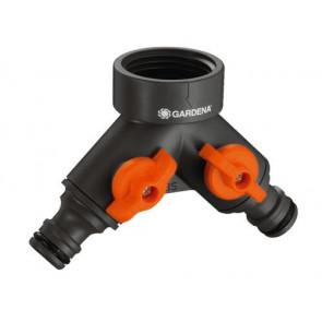 """Gardena 940-20 dvojcestný ventil 1"""""""