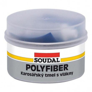 Soudal Polyfiber 1,5kg - polyesterový karosársky tmel so sklenenými vláknami