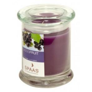 Spaas Sklo 90x110 Cassis Fruit s víčkem vonná svíčka