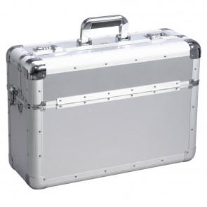 Allit 420550 Hliníkový cestovní kufr AluPlus Travel 22, stříbrný