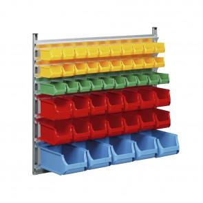 Allit 455935 Nástěnný stojan pro stohovatelné zásobníky ProfiPlus Depot> WN
