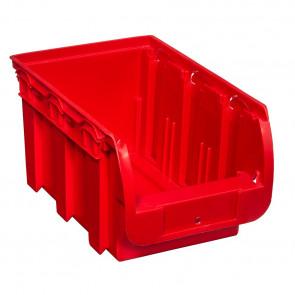 Allit 456431 Stohovatelný zásobník ProfiPlus Compact 3, červený