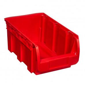 Allit 456441 Stohovatelný zásobník ProfiPlus Compact 4, červený