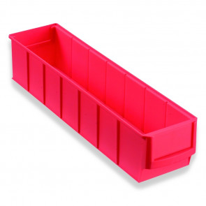 Allit 456541 Průmyslová odkládací přihrádka uzavřená vpředu ProfiPlus ShelfBox 400S, červený