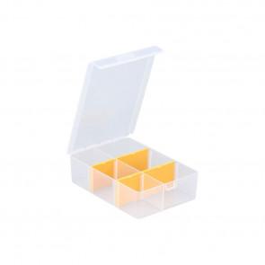 Allit 457160 Organizérová krabice se 4 pružnými děliči EuroPlus Basic 11 / 2-4, transp.