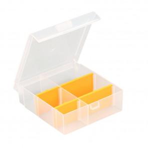 Allit 457162 Organizérová krabice se 4 pružnými děliči EuroPlus Basic 13 / 2-4, transp.